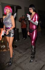 DELILAH and AMELIA HAMLIN at Halloween Party at Delilah in West Hollywood 10/31/2017