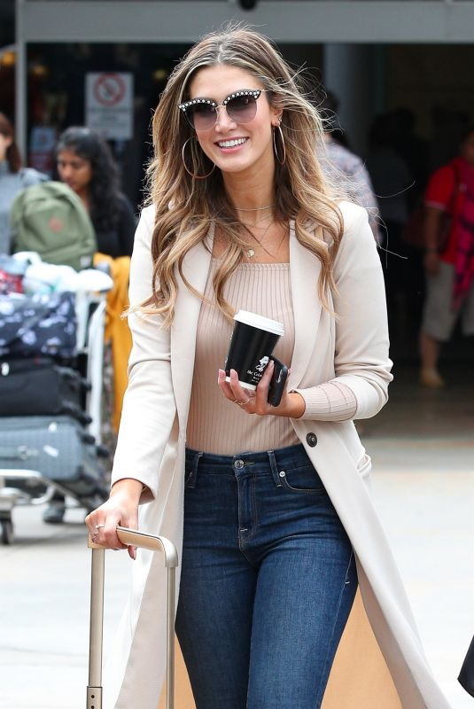 DELTA GOODREM at Airport in Sydney 11/21/2017