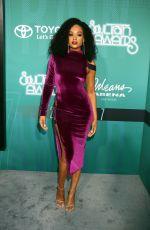 DEMETRIA MCKINNEY at Soul Train Awards in Las Vegas 11/05/2017