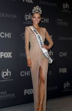 DEMI-LEIGH NEL-PETERS at 2017 Miss Universe Pageant in Las Vegas 11/26/2017