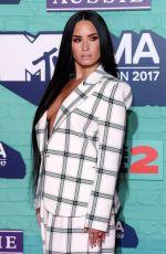 DEMI LOVATO at 2017 MTV Europe Music Awards in London 11/12/2017