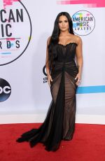 DEMI LOVATO at American Music Awards 2017 at Microsoft Theater in Los Angeles 11/19/2017