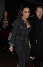 DEMI LOVATO Leaves Her Hotel in London 11/11/2017