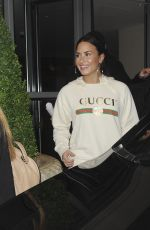 DEMI LOVATO Leaves Her Hotel in London 11/12/2017