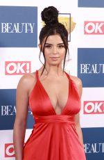 DEMI ROSE MAWBY at OK! Magazine Beauty Awards in London 11/28/2017