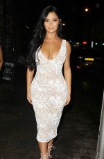 DEMI ROSE MAWBY at Skinnydip MTV Lainch Party in London 11/20/2017