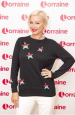 DENISE VAN OUTE at Lorraine Show in London 11/22/2017