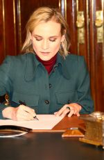 DIANE KRUGER at Golden Book Signing at City Hall in Hamburg 11/21/2017
