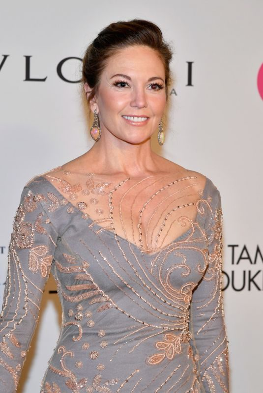DIANE LANE at Elton John Aids Foundation 25 Year Celebration in New York 11/07/2017