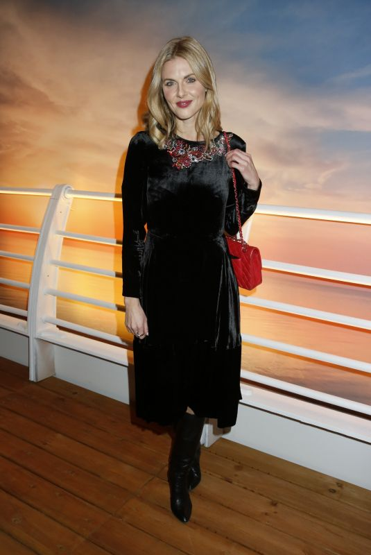 DONNA AIR at Marella Cruises First Spa at Sea Launch in London 11/28/2017
