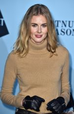 DONNA AIR at Skate at Somerset House VIP Launch Party in London 11/14/2017