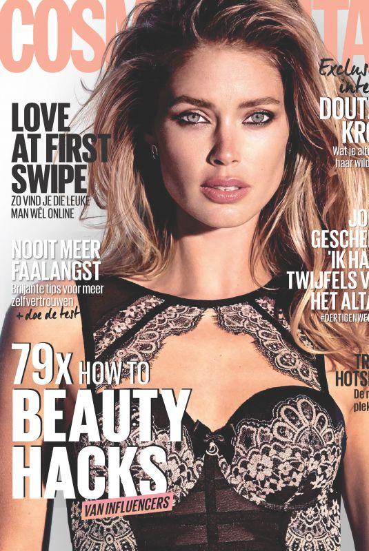 DOUTZEN KROES in Cosmopolitan Magazine, Netherlands November 2017 Issue