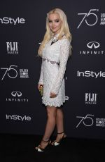 DOVE CAMERON at HFPA & Instyle Celebrate 75th Anniversary of the Golden Globes in Los Angeles 11/15/2017