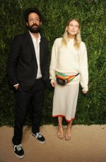 DREE HEMINGWAY at 14th Annual Cfda/Vogue Fashion Fund Awards in New York 11/06/2017