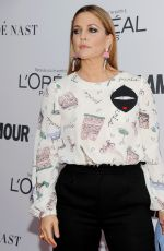 DREW BARRYMORE at Glamour Women of the Year Summit in New York 11/13/2017
