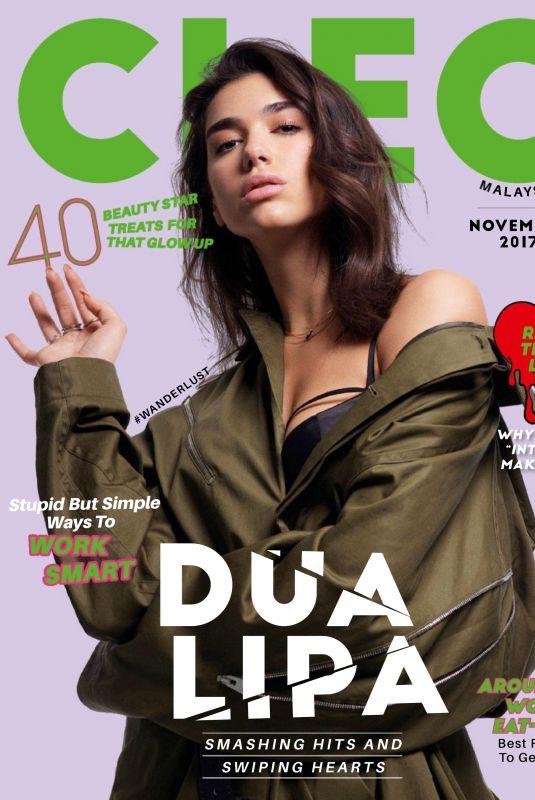 DUA LIPA in Cleo Magazine, Malaysia November 2017 Issue