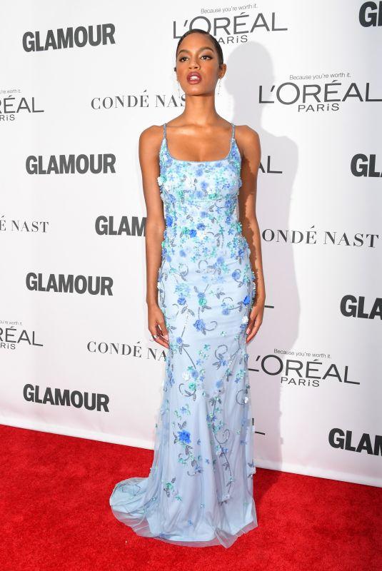 EBONEE DAVIS at Glamour Women of the Year Summit in New York 11/13/2017