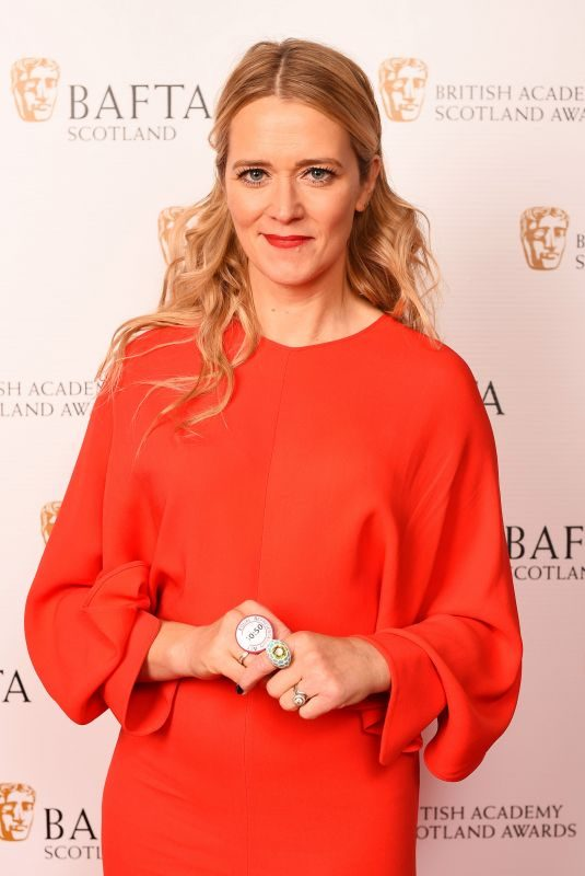 EDITH BOWMAN at British Academy Scotland Awards in Glasgow 11/05/2017