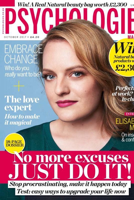 ELISABETH MOSS in Psychologies Magazine, October 2017
