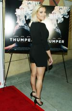 ELIZA TAYLOR at Thumper Premiere in Los Angeles 10/30/2017