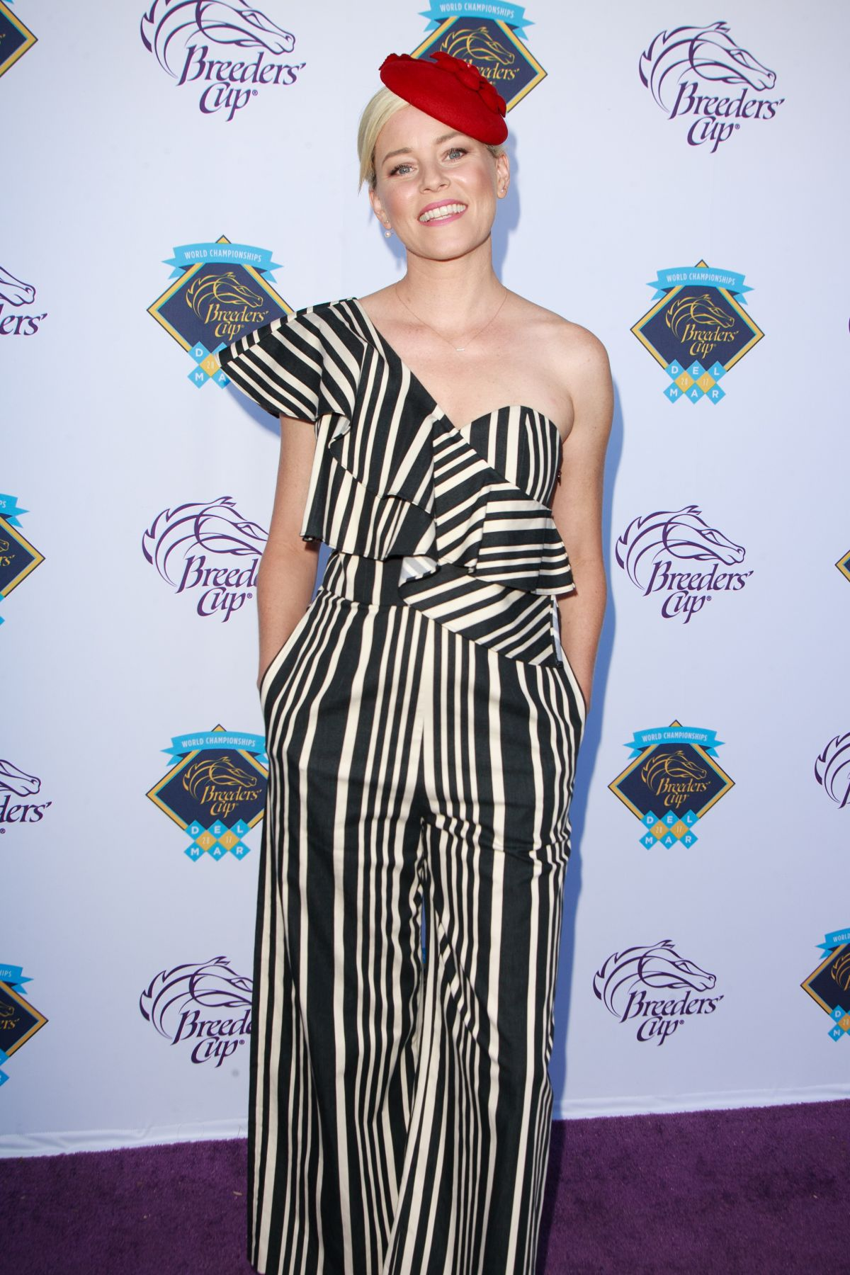 Elizabeth Banks 2017 Breeders Cup World Championship At