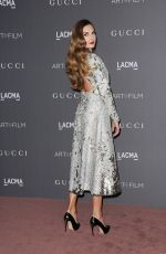 ELIZABETH CHAMBERS at 2017 LACMA Art + Film Gala in Los Angeles 11/04/2017