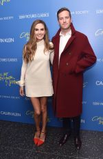 ELIZABETH CHAMBERS at Call Me by Your Name Screening in New York 11/16/2017
