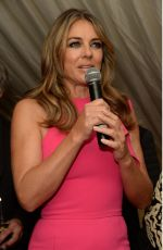 ELIZABETH HURLEY at Holiday House Launch in London 11/08/2017