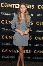 ELIZABETH OLSEN at Deadline Hollywood The Contenders 2017 in Los Angeles 11/04/2017