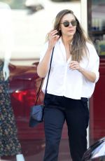 ELIZABETH OLSEN Out and About in Los Angeles 11/12/2017