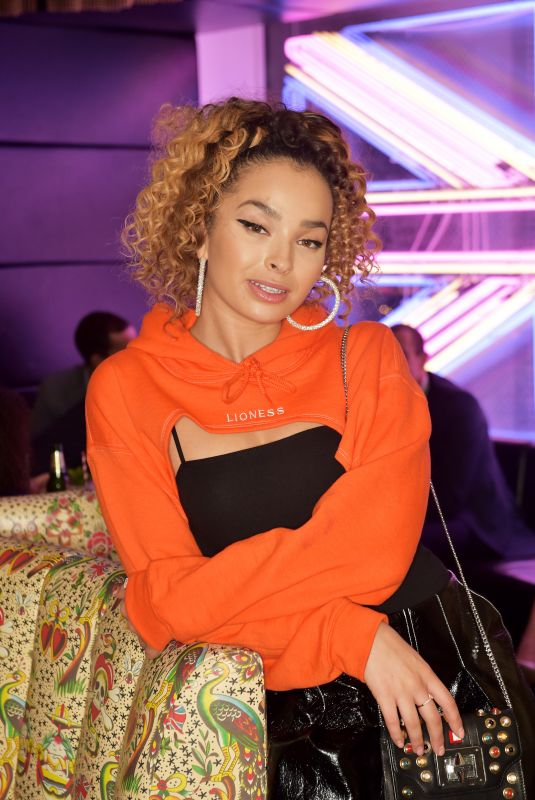 ELLA EYRE at Launch of Perception at W in London 11/07/2017