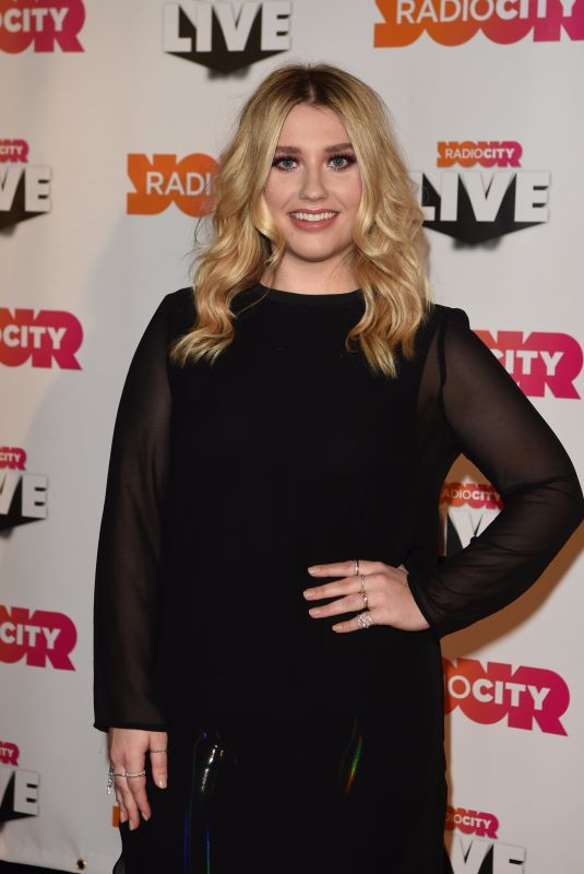ELLA HENDERSON at Radio City Christmas Live 2017 Gig in Liverpool 11/10/2017