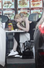 ELLE FANNING Out for Brakfast in Los Angeles 11/20/2017