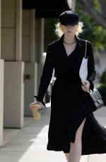 ELLE FANNING Out on Roberston Blvd in Los Angeles 11/27/2017