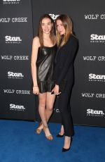 ELSA and ANNA COCQUEREL at Wolf Creek Premiere in Sydney 11/21/2017