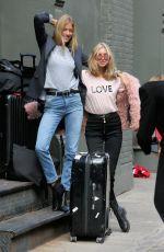 ELSA HOSK and MARTHA HUNT Out in New York 11/16/2017