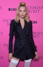 ELSA HOSK at Victoria's Secret Angels Viewing Party 2017 in New York 11/28/2017