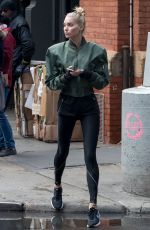ELSA HOSK Out and About in New York 11/06/2017