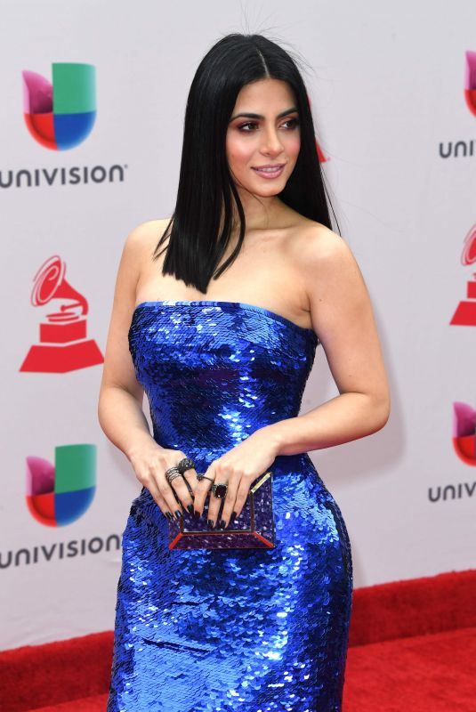 EMERAUDE TOUBIA at Latin Grammy Awards 2017 in Las Vegas 11/16/2017