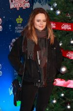 EMILY ATACK at Winter Wonderland at Hyde Park in London 11/16/2017
