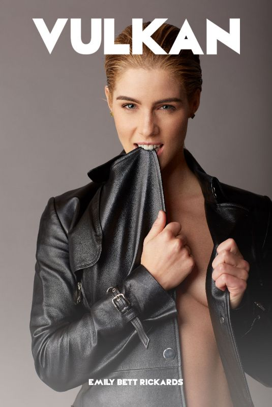 EMILY BETT RICKARDS for Vulkan Magazine, December 2017