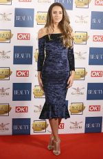 EMILY MACDONAGH at OK! Magazine Beauty Awards in London 11/28/2017