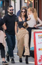 EMILY RATAJKOWSKI Out with a Friend in New York 10/27/2017