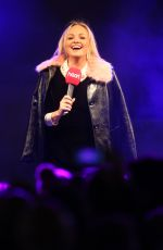 EMMA BUNTON at Christmas Lights Are Switched on in Regent Street in London 11/16/2017