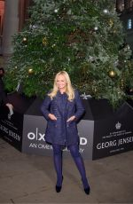 EMMA BUNTON Switches On the Lights at Royal Exchange Christmas Tree in London 11/22/2017