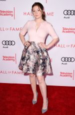 EMMA KENNEY at Television Academy Hall of Fame Induction in Los Angeles 11/15/2017