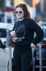 EMMA KENNEY Shopping at Crystalarium in West Hollywood 11/05/2017