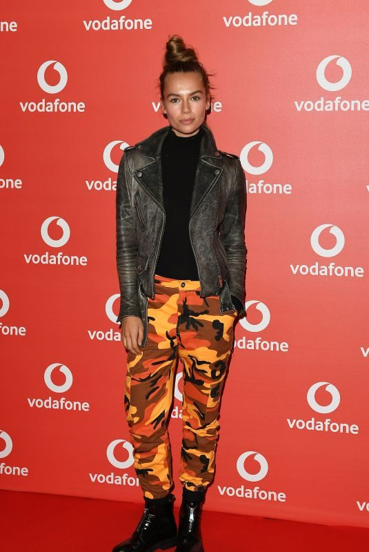EMMA LOUISE CONNOLLY at Vodafone Passes Launch in London 11/01/2017