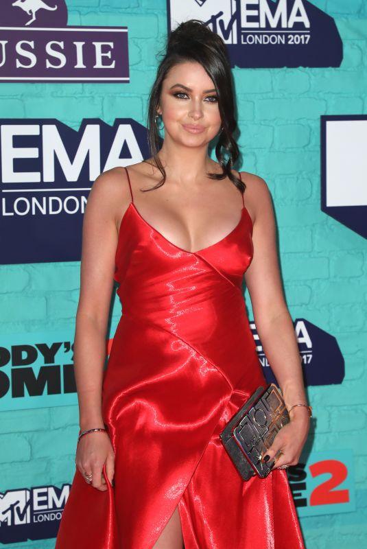 EMMA MILLER at 2017 MTV Europe Music Awards in London 11/12/2017