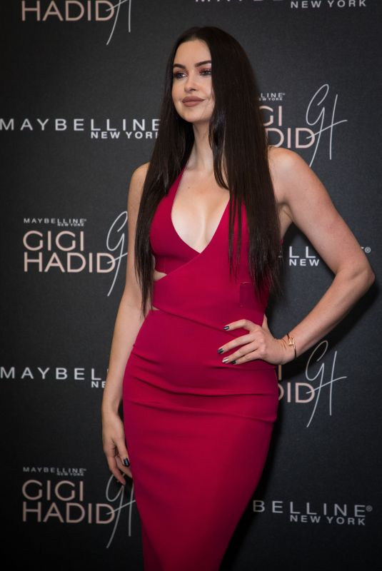 EMMA MILLER at Gigi Hadid x Maybelline Party in London 11/07/2017